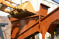 Bulk Mulch Hopper Photo
