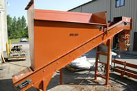 Incline Mulch Conveyor Photo